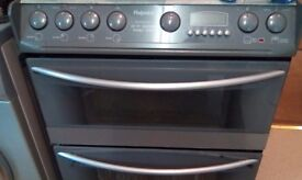 Hotpoint halagon double oven