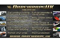 Professional car window tinting and car wrapping. Headlights tinting. Great quality and prices!