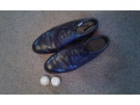 Black Footjoy size uk 10 and a half