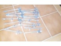 18 PRO MITRE WORKTOP BOLTS FROM SCREWFIX