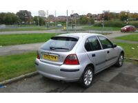 1.4 Rover 25 Petrol SILVER (2004) Manual 5 Door Hatchback Great for Commuters Good A43 Runner