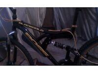 Boss BlackGold full suspension Front & Back disc Mountain bike
