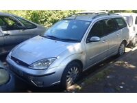 2002 Ford Focus mk1 estate 1.8 Ghia moondust silver BREAKING FOR SPARES