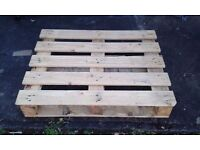 Large quantity of wooden printers pallets - Free to collector