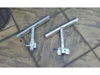 boat trailer side supports good useable condition