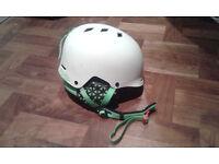 Ski / Snowboard Helmet - SHRED Half Brain, XS-M, White