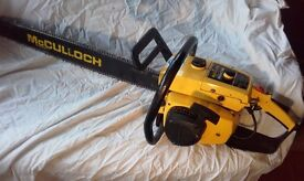 Vintage McCulloch ProMac 850 chainsaw - spares or repair