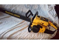 Vintage McCulloch ProMac 850 chainsaw - spares or repair £250 ono