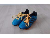 Blue Adidas Football Shoes size UK 11
