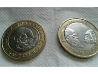 £2 Commemorative Coins