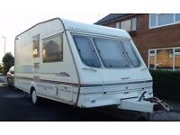 1999 YEAR CARAVAN SWIFT DUETTE CLASSIC 2/3 BERTH WITH AWNING AND FULL EQUIPMENT