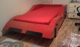 Formula 1 style bed - full size single bed