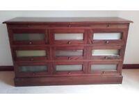 Sideboard, solid dark wood