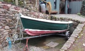 Orkney Spinner Day/Fishing Boat complete with Yamaha 5hp outboard and road trailer