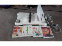 Wii Fit and Fit Board