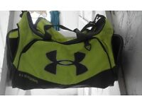 Under Armour Storm Sports Bag High-Vis Flourescent Yellow Coloured