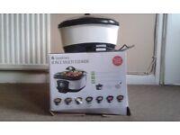 8-In-1 Multi Cooker Bake Fry Slow Cook Steamer Boil Roaster Deep Fat Fryer