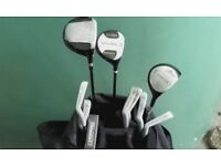 Golf clubs for sale, ideal starter set as Christmas present.