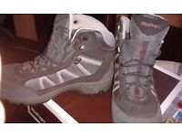 Ladies hillwalking boots, Brasher, size 6 waterproof .