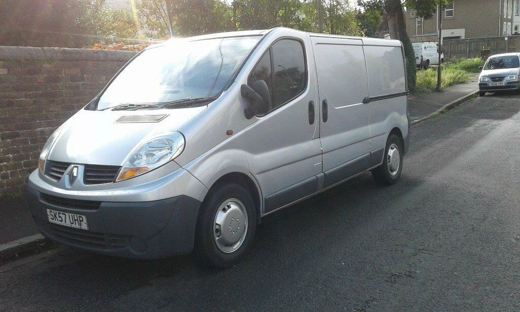 0079e87421 renault trafic lwb silver 57 plate 1295 bargain na offers