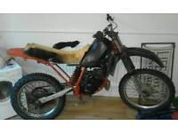 Honda mtx 125cc 1983