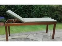 Wooden treatment plinth