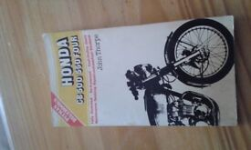 Honda CB500/550 four repair manual