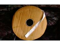 25 mm ( 1 INCH) WIDE CURTAIN HEADING/HEADER TAPE(50mtrs)