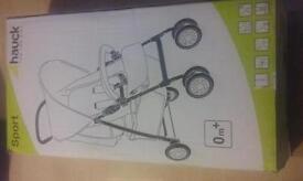 Brand new hauck sport pushchair
