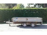 Ifor williams lt105 2 tonne drop side trailer
