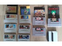 Nintendo and snes games bundle