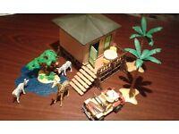 Playmobil safari lodge set