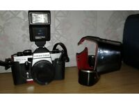 35mm Camera with accessories