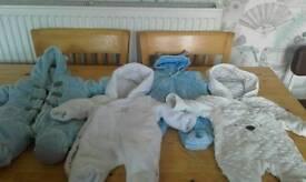 TINY 2 NEWBORN BABY BOY CLOTHES