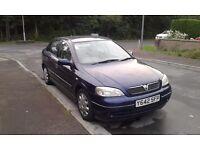 Vauxhall astra 1.6 petrol Yreg