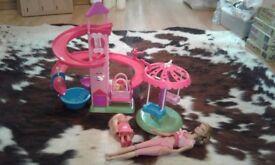 Barbie puppy playground