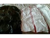 4x SUIT/DRESS BAGS.