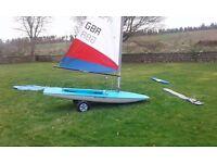 Topper sailing dinghy 44467