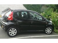 5 Door Peugeot 107, 5 yrs old, one owner, good condition.