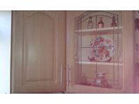 2 kichen cabinets