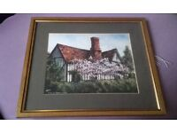 Original signed painting by Reg Siger
