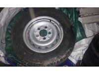 wheel & tyre 225/70/r15 van