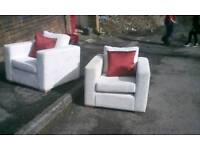 Armchair's from wimpy show home like new