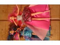 Rock and royals barbie dolls.