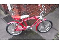 Retro bratz chopper style bike you dont see many of these for sale