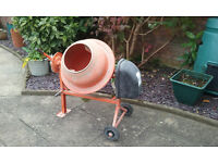 240 v Portable Concrete Mixer