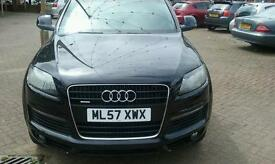 audi Q7 S line triptronic quattro 5 door cat D