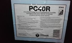 Titan 40 Gallon Cold Domestic Water Cistern Tank with ByeLaw30 Kit