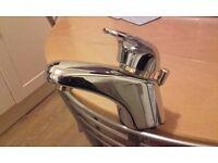 Mixer tap. quality single arm chrometap, excellent condit;