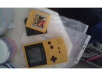 Gameboy Colour w/donkey kong and tetris £30